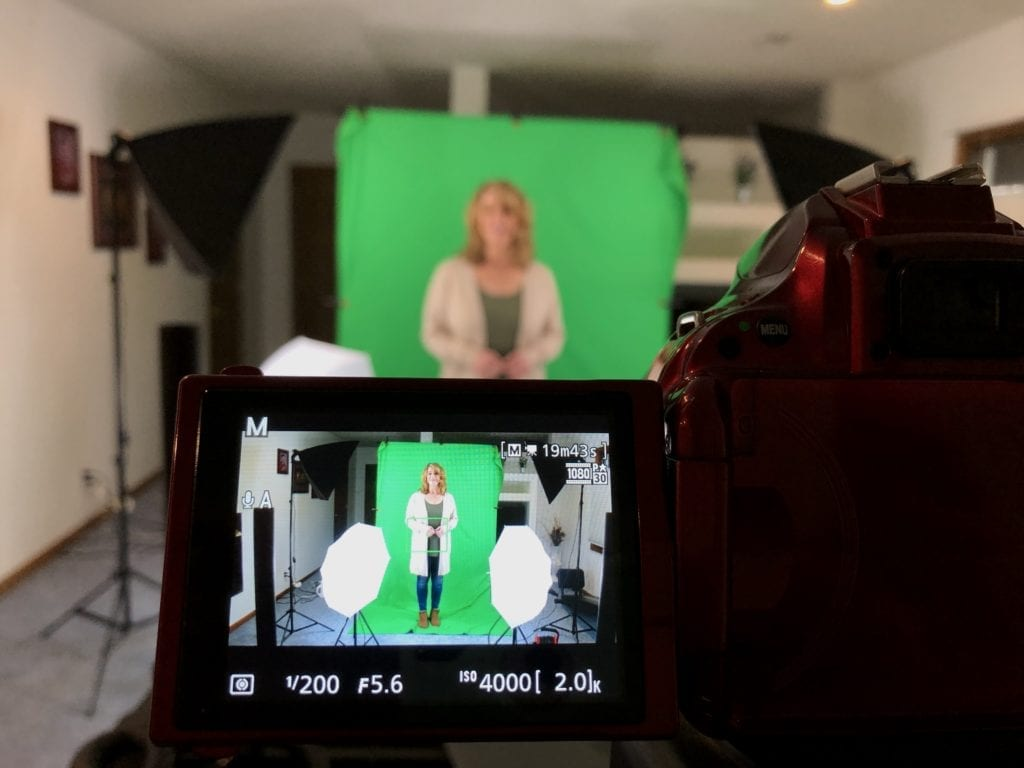 Apparition will be in Theaters in 2020 - Green Screen Video Shoot