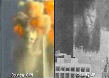 September 11, 2001 Demon Pictures From The Terrorist Attacks